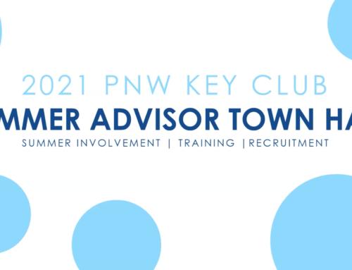 Event Recap: PNW Key Club Summer Advisor Town Hall 2021