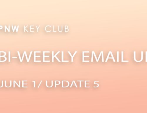 Bi-Weekly Email Update: June 1/Update 5