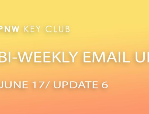 Bi-Weekly Email Update: June 17/Update 6
