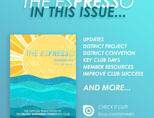 The ESPRESSO Summer 2021 | Volume 32 Issue 1