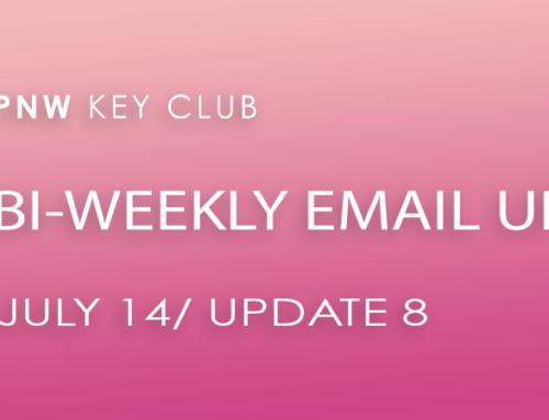 Bi-Weekly Email Update: July 14/Update 8