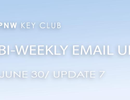 Bi-Weekly Email Update: June 30/Update 7