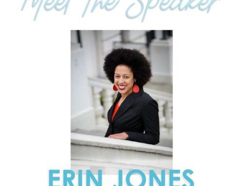 Meet the Speaker: Erin Jones