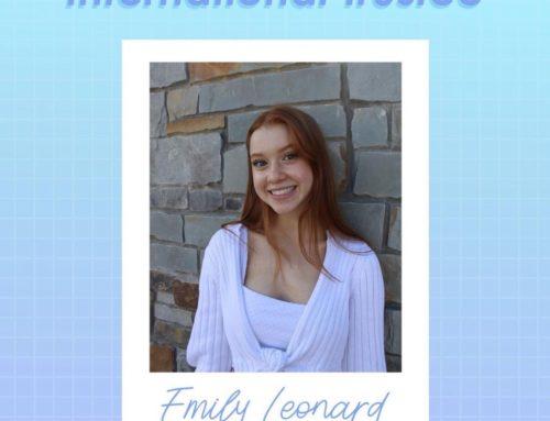 Meet Our 2021-2022 International Trustee: Emily Leonard